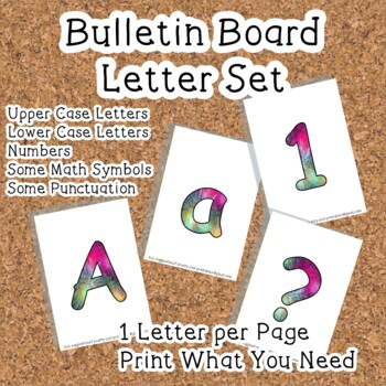 Printable display bulletin letters numbers and more: Fireworks