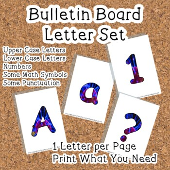 Printable display bulletin letters numbers and more: Science Plasma