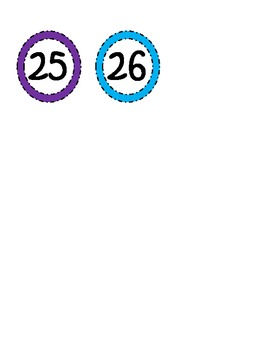Display Numbers