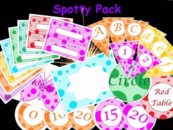 Display Pack - Spots