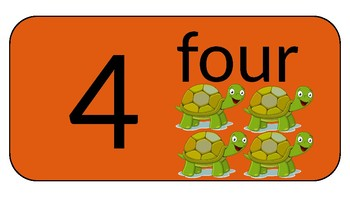 Display Posters for Numbers