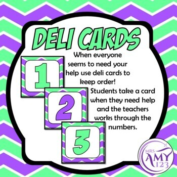 Display Resources and Deli Cards
