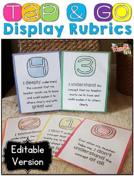 Display Rubrics {EDITABLE}