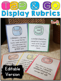 Display Rubrics {EDITABLE}