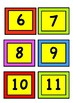 Number cards 0 to 23