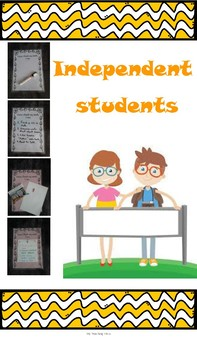 Display poster for independent students