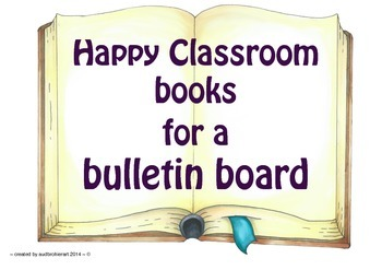 Display to promote a happy learning environment, Bulletin board
