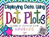 Displaying Data Using Dot Plots **QR CODE Task Cards**