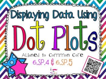 Displaying Data Using Dot Plots **QR CODE Task Cards**