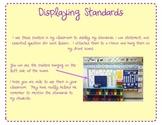 Displaying Standards