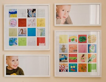 Displaying Your Kid's Masterpieces