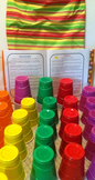 Disposable Cups for learning and fun too...