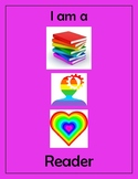 Disrupting Thinking Book, Head, Heart Poster Green Pink