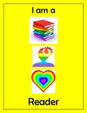 Disrupting Thinking Book, Head, Heart Poster Yellow