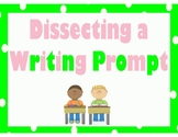 Dissecting a Writing Prompt - lime and pink