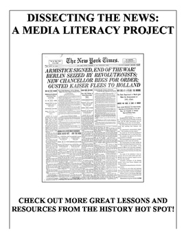 Dissecting the News: A Media Literacy Project
