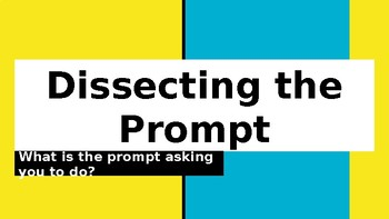 Dissecting the Prompt