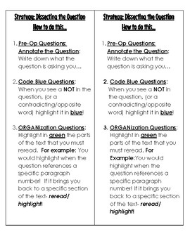 Dissecting the Question Bookmark