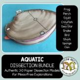 Dissection - Aquatic Animals *GROWING* Bundle
