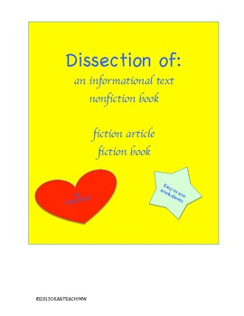 Dissection of Fictional and Informational Text
