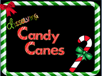 Dissolving Candy Canes