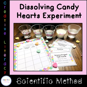 Dissolving Candy Hearts Science Project