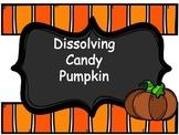 Dissolving Candy Pumpkins