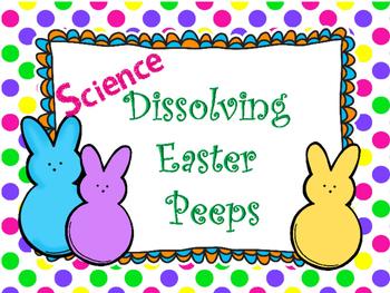 Dissolving Easter Peeps