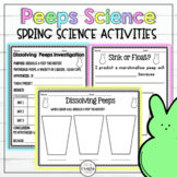 Dissolving Peeps Spring Science Experiment with STEM extension!