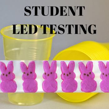 Spring and Easter Dissolving Peeps with Scientific Method
