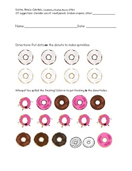 Distal Pencil Control Donuts