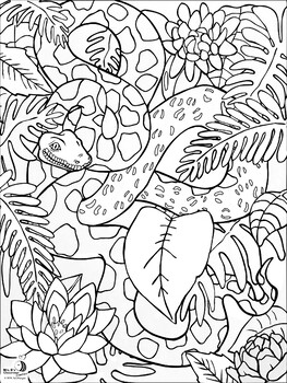 Reptile Coloring Worksheets Teaching Resources Tpt