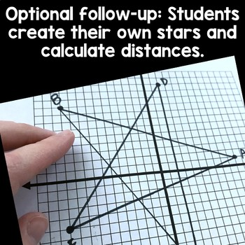Distance on a Graph, Pythagorean Theorem Task