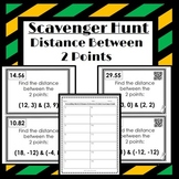 Distance Between 2 Points: Scavenger Hunt