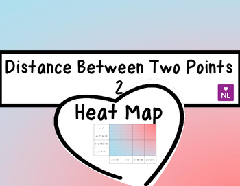 Distance Between Coordinates 2 (Heat Map)