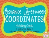 Distance Between Coordinates Matching Cards CCSS 6.NS.8 Aligned**
