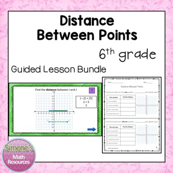 Distance Between Points Guided Lesson