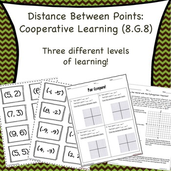 Pythagorean Theorem Cooperative Learning (8.G.8)