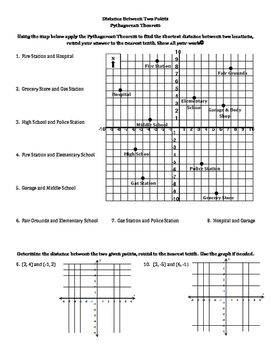 Distance Between Two Points w Pythagorean Theorem on distance quotes, distance formula, distance between points in space, distance between pair of points, distance time graph, distance between four points, finding distance between points, point one to two points, distance examples, distance math, distance and midpoint problems, distance from point to plane, distance equation, distance theorem, distance physics,