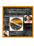 Distance Learning Bundle #1-Lessons 1-5 S-Cubed Sight Singing for Beginners