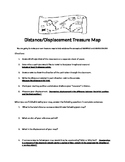 Distance/Displacement Treasure Map