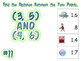 Distance Formula Activity: Scavenger Hunt