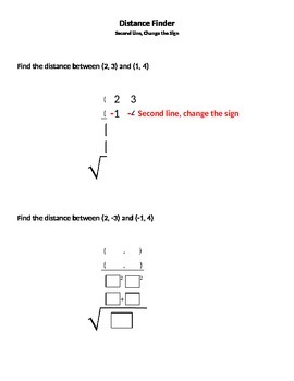 Distance Formula: A NEW Perspective!