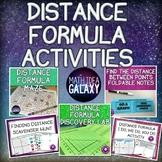 Distance Formula Activity Bundle