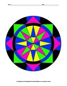 Distance Formula Color by Number