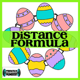 Distance Formula Easter Egg Self-Checking Wreath (Spring)