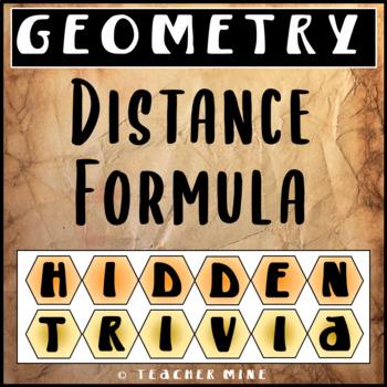 Distance Formula Hidden Trivia