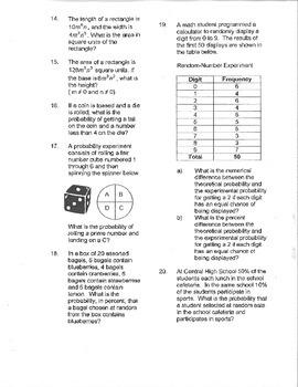 Distance Formula Lesson/Worksheet
