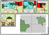 Distance Formula & Midpoint Formula (Comic)
