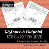 Distance Formula & Midpoint Formula: RoundABout Challenge